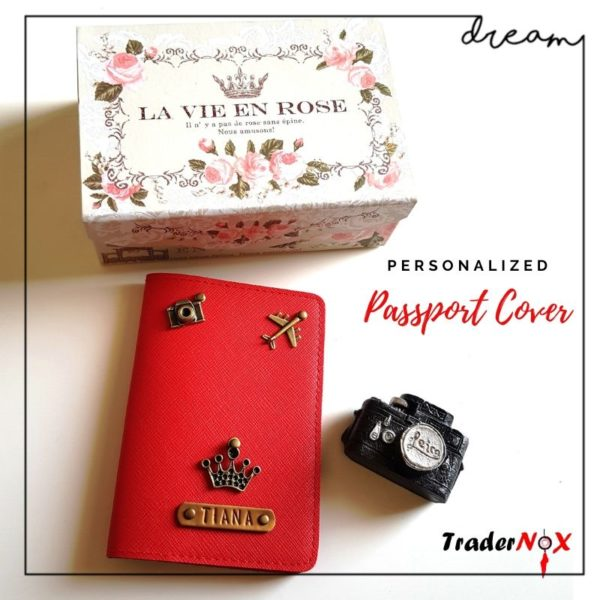 Passport cover for her
