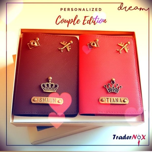 Passport cover for couple